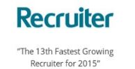 Recruiter Award Logo